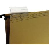 Vollsichtreiter Hängeregistratur transparent  50 St./Pack.