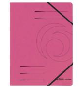 Eckspannmappe easy orga A4 355g pink