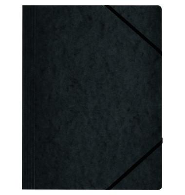 Eckspanner 11159688 DIN A4 Colorspankarton schwarz