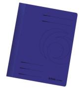 Schnellhefter 10902500 DIN A4 Karton intensiv dunkelblau