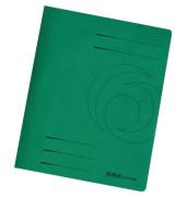 Schnellhefter 10902 A4 dunkelgrün 240g Karton kaufmännische Heftung / Amtsheftung