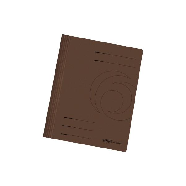 herlitz schnellhefter 10902575 din a4 karton intensiv braun. Black Bedroom Furniture Sets. Home Design Ideas