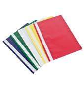 Schnellhefter 2970 A4 farbig sortiert PP Kunststoff kaufmännische Heftung bis 70 Blatt 10 Stück