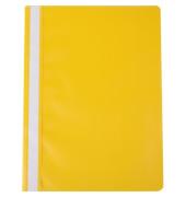Schnellhefter 1250548 A4 gelb PP Kunststoff kaufmännische Heftung 10 Stück