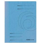 Schnellhefter 1090 A4 intensiv hellblau 355g Karton kaufmännische Heftung / Amtsheftung bis 250 Blatt