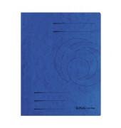 Schnellhefter 10902989 DIN A4 Colorspankarton blau