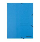 Eckspannmappe 1473 A4 390g blau