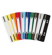 Heftstreifen 3167 kurz Kunststoffdeckleiste farbig sortiert 250 Stück/Packung PP