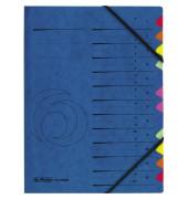 Ordnungsmappe A-Z 5001128 12 Fächer blau