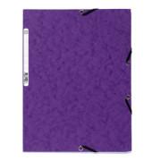 Eckspannmappe 55508E Nature Future A4 400g violett