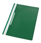 Schnellhefter 1423 A4 grün PVC Kunststoff kaufmännische Heftung mit Abheftlochung bis 150 Blatt