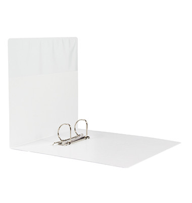 Präsentationsringbuch 4142 DIN A4 50mm 2Ringe weiß