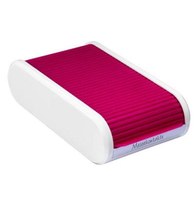 Visitenkartenbox Linear H6218026 300Karten blackberry red