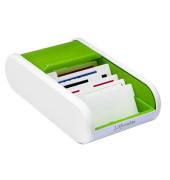 Visitenkartenbox Linear H6218050 300Karten apple green