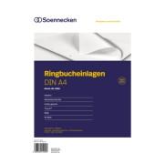Ringbucheinlagen 2316 liniert A4 4-fach gelocht 70g 50 Blatt