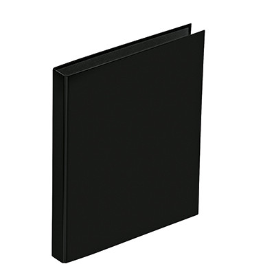 Ringbuch Basic Colours 20406-01 DIN A5 2Ringe PP schwarz