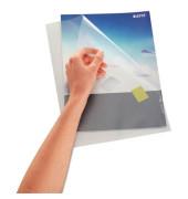 Sichthüllen 4000-60-03, A4, farblos, transparent, genarbt, 0,13mm, oben & rechts offen, PP