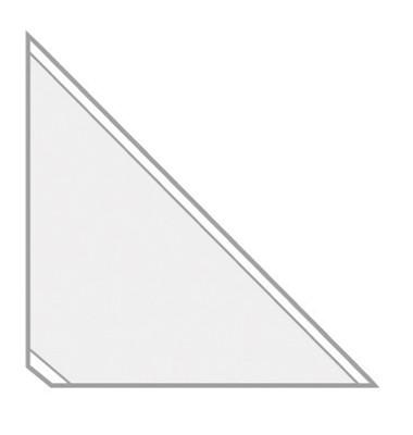 Dreiecktaschen VELOCOLL 2210000 10x10cm sk gk 8 St./Pack.