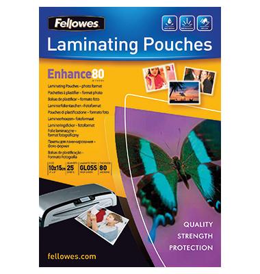 Laminierfolie Enhance 80 5440602 108x159mm tr 25 St./Pack.