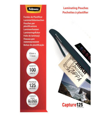 Laminierfolie Capture 125 5307101 83x113mm 100 St./Pack.