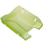 Briefablage H23635 Greenlogic A4 / C4 grün-transparent stapelbar