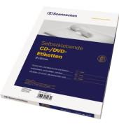 CD/DVD Etikett 5770 116mm weiß 200 St./Pack.