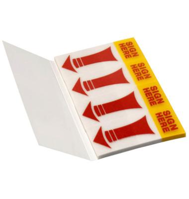 Haftmarker Pfeile SIGN HERE 5670-06 4 x 40 Stück