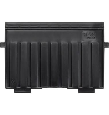 Stützplatte A6-quer schwarz