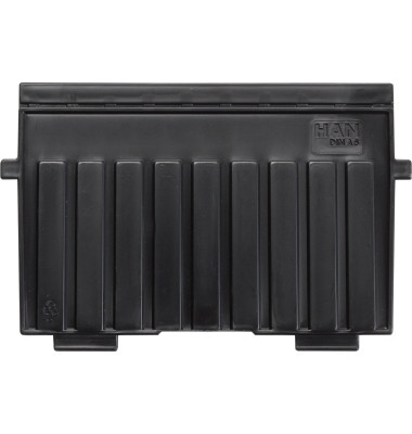 Stützplatte 9026-13 DIN A6 quer Polystyrol schwarz