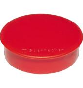 Magnet 4801 rund 32mm rot 10 St./Pack.