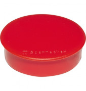 Magnet 4808 rund 38mm rot 10 St./Pack.