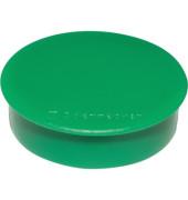 Magnet 4809 rund 38mm grün 10 St./Pack.