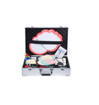 Moderationskoffer Premium 7-225500 gefüllt mit 2400 Teilen