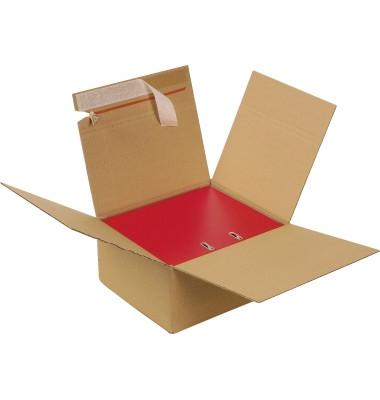 Ordner-Karton 799-2 für 2-3 Ordner 330x290x148mm braun