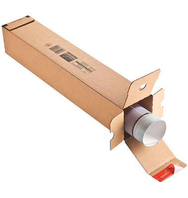 Versandhülse CP072.02 108x108x430 mm Wellpappe braun