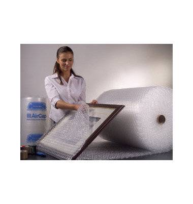 Luftpolsterfolie 40cm x 5m kleinnoppig transparent