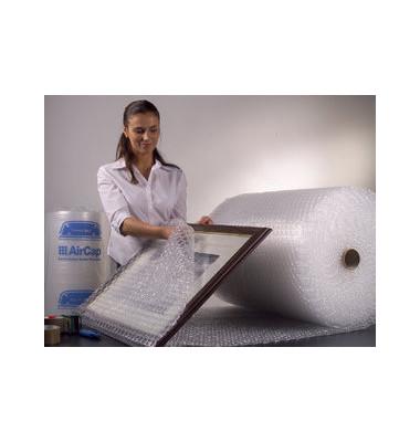 Luftpolsterfolie 100cm x 100m kleinnoppig transparent