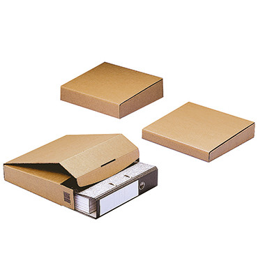 Versandkarton CP058.05 32,2x28,8x5cm Wellpappe braun