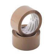 Packband 5861, 50mm x 66m, PP, leise abrollbar, braun
