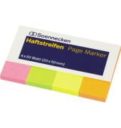 Index Haftstreifen Page Marker 5788 farbig sortiert 200 Bl./Pack.