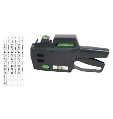 Preisauszeichnungsgerät CL 6.26 ACL-14000626, 1-zeilig, 6-stellig, mit Nummern