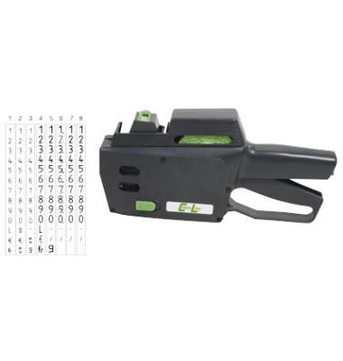 Preisauszeichnungsgerät CL 8.26 ACL-14000826, 1-zeilig, 8-stellig, mit Nummern, mit Grundpreis-Einheiten