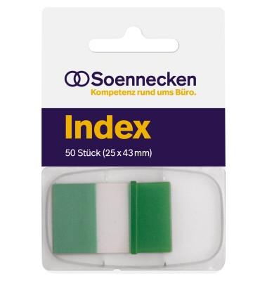 Index Haftstreifen 5823 25x43mm 50Streifen grün