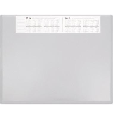 Schreibunterlage 3654 63x50cm Kunststoff grau