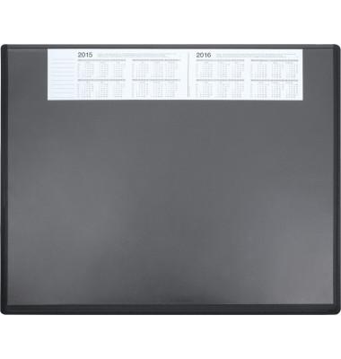 Schreibunterlage 3655 63x50cm Kunststoff schwarz