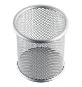 Stifteköcher Mesh H2518100 9x10cm rund 1Fach Metall silber
