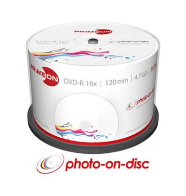 DVD-R 2761206 16x 4,7GB 120Min. bedruckbar 50 St./Pack.