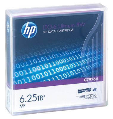 Data Cartridge LTO-6 Ultrium C7976A 6.250GB