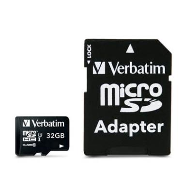 Speicherkarte microSDHC 44083 Class 10 32GB +Adapter