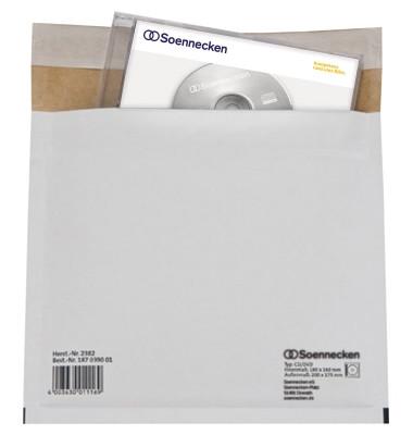 CD/DVD Versandtasche 2382 hk Karton weiß